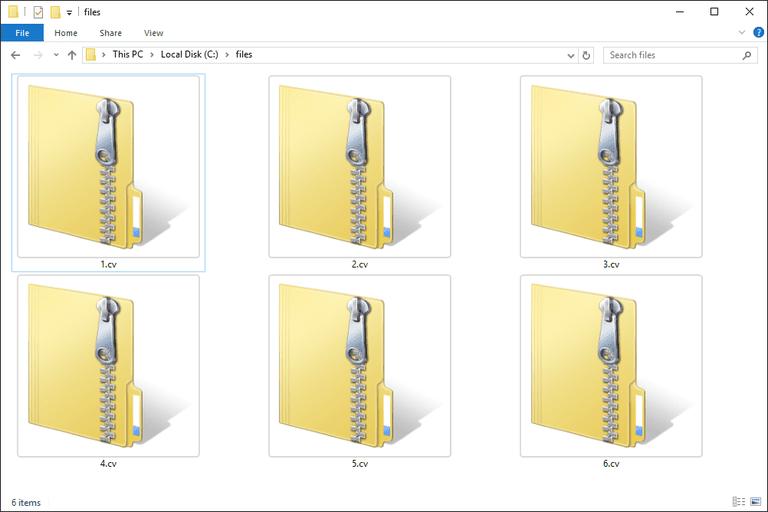 CV Files