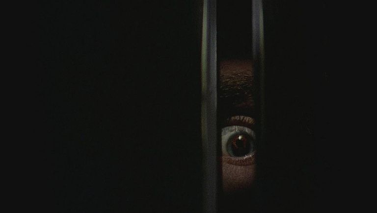 A scene from the Canadian horror movie 'Black Christmas' (1974).