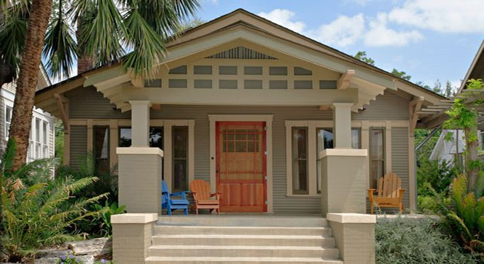 Craftsman house colors photos and ideas for Craftsman exterior color schemes