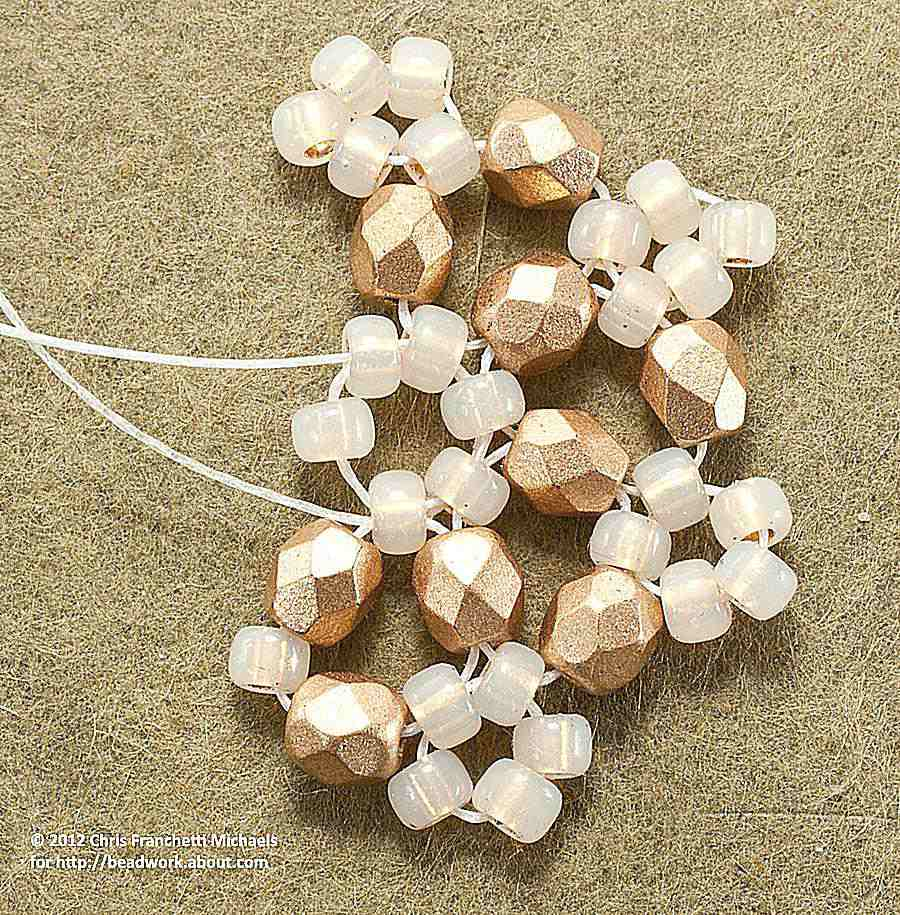 beaddiagrams free com of page beads pearl tila pattern michaels patterns beading petals