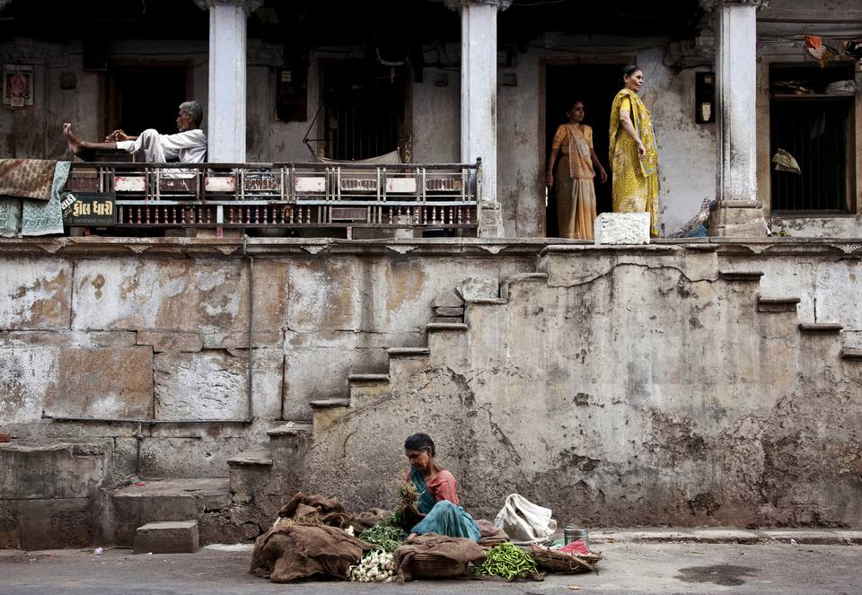 Old City, Ahmedabad, Gujarat, India