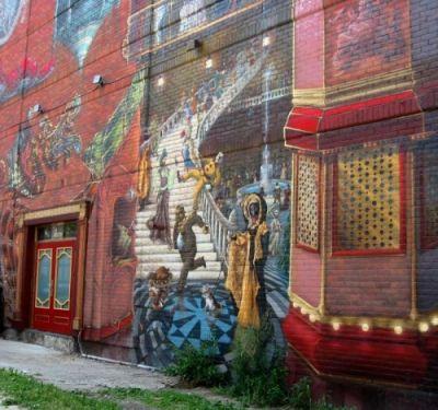 Résultats de recherche d'images pour «murale village gay»