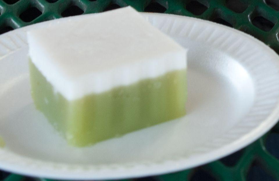 Thai Pandan Cake Recipe