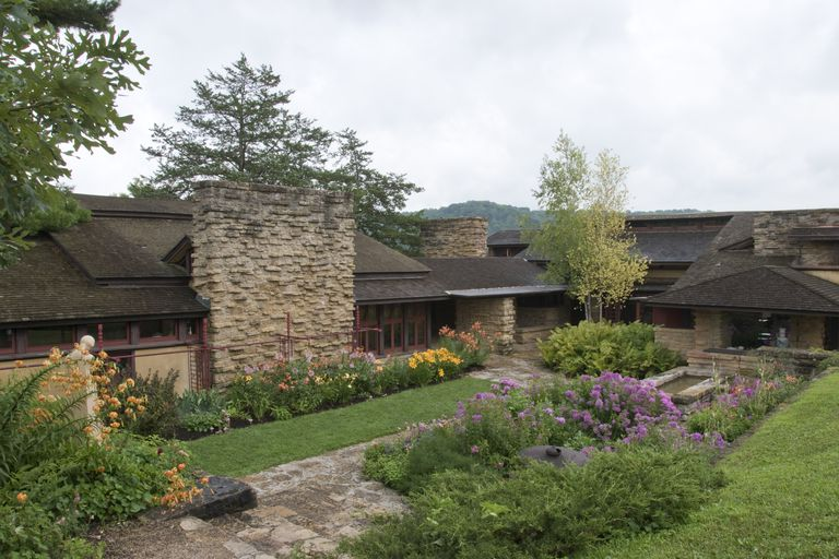The gardens and organic architecture of Taliesin, the Wisconsin estate of Frank Lloyd Wright