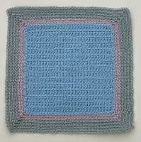 Easy Baby Afghan Square