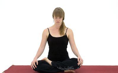 padmasana lotus pose and alternative poses