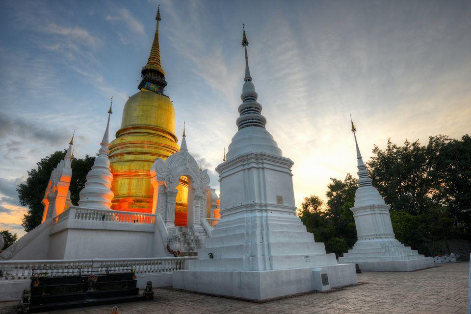 Wat Suan Dok, Chiang Mai.