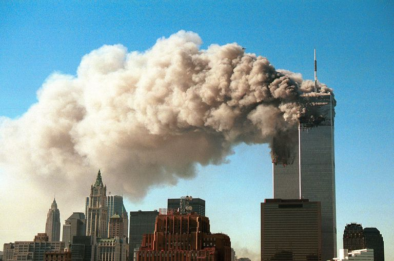 My First Day In College Essay Smoke Pours From The Twin Towers Of The World Trade Center After They Were  Hit By How To Write A Good Essay About Yourself also Moll Flanders Essay The World Trade Center Collapse Explained Explanatory Essay Topics