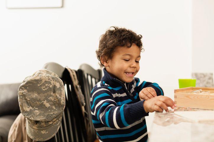 school boy military