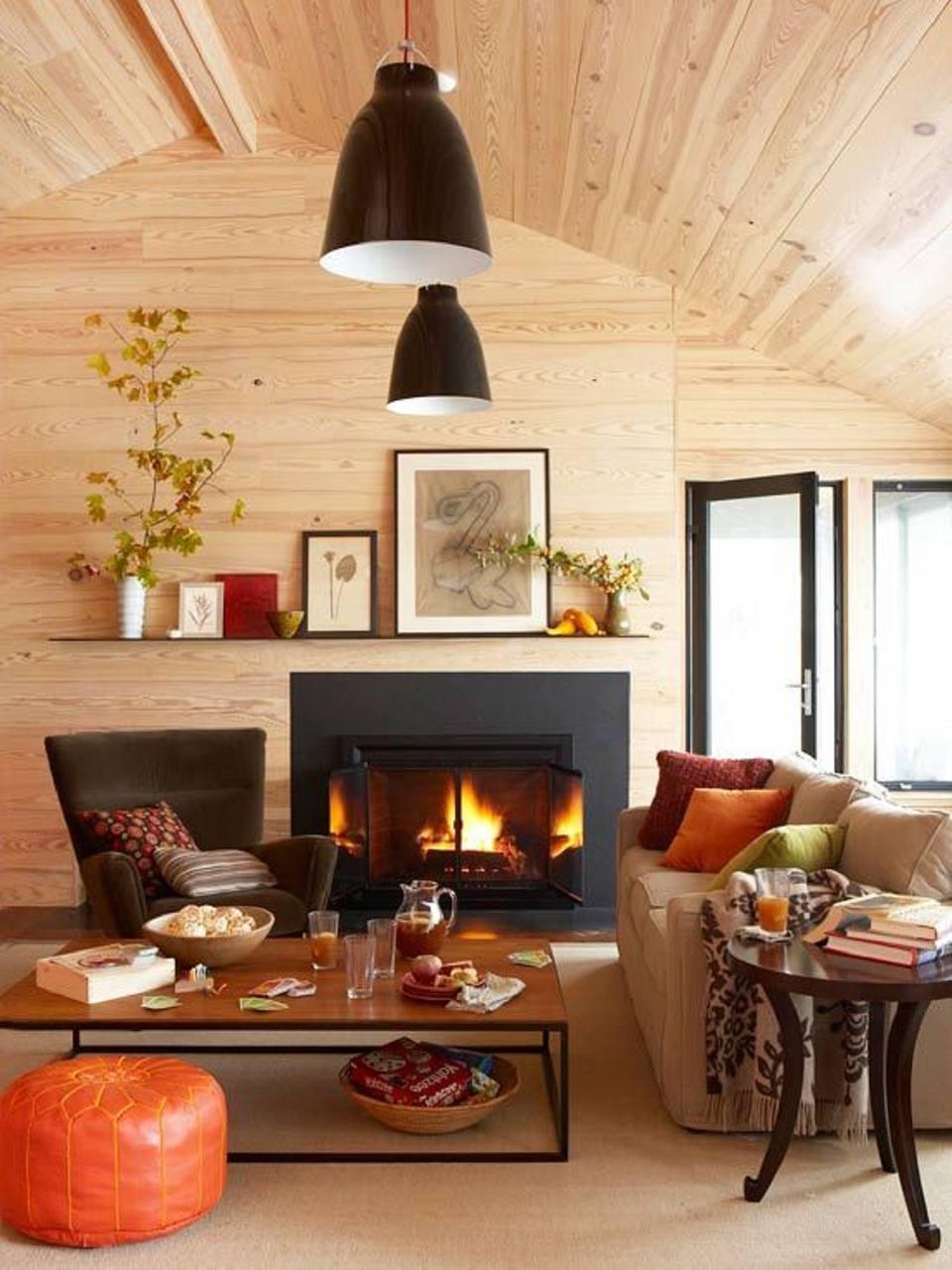 Autumn Living Room Decorating: 24 Creative Fall Harvest Home Decor Ideas