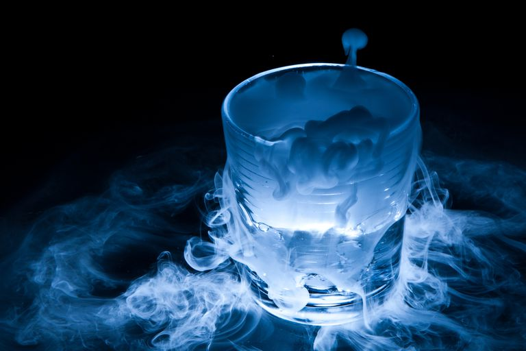 Making dry ice fog is one of the classic dry ice projects.