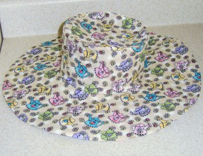 Wide Brim Hat Made from Wild Things! Pattern