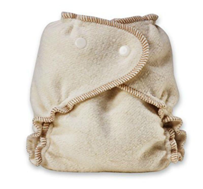 Kissaluvs Organic Cotton/Hemp Fitted Diapers