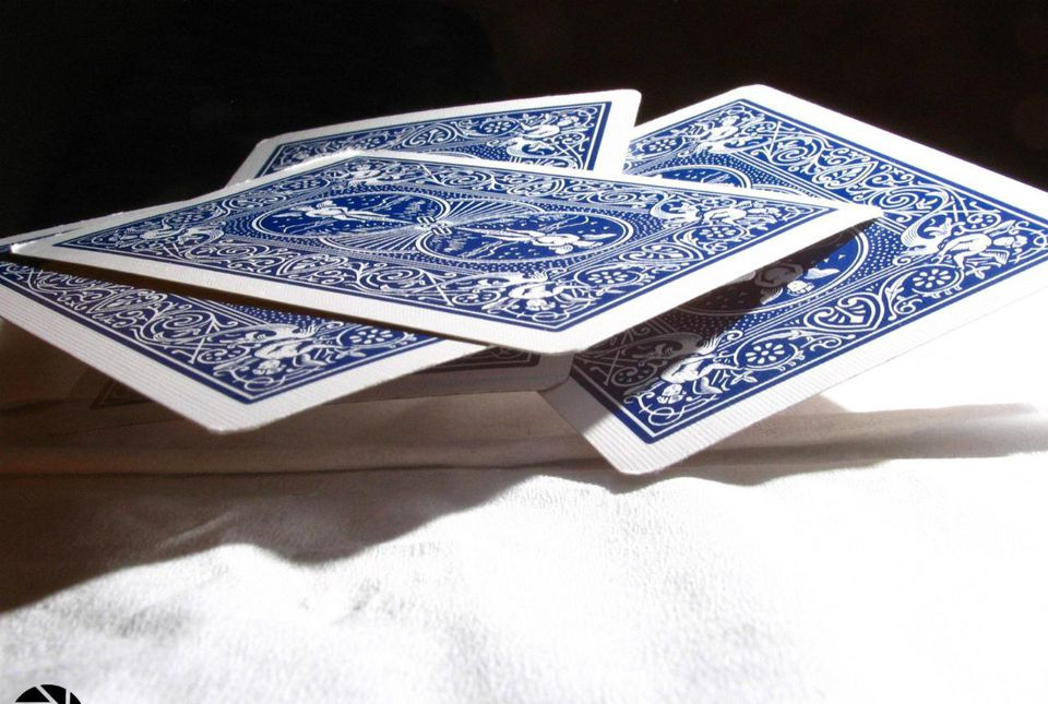 Floating cards