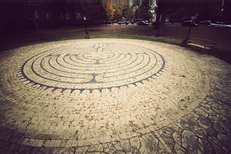 Hendrix College - Labyrinth