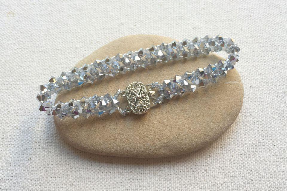 swarovski crystal bracelet RAW