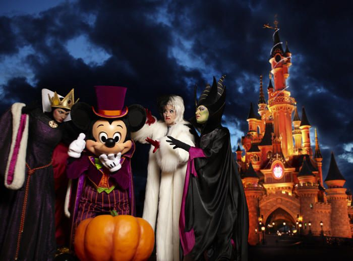 Disney Halloween Parties Around the World