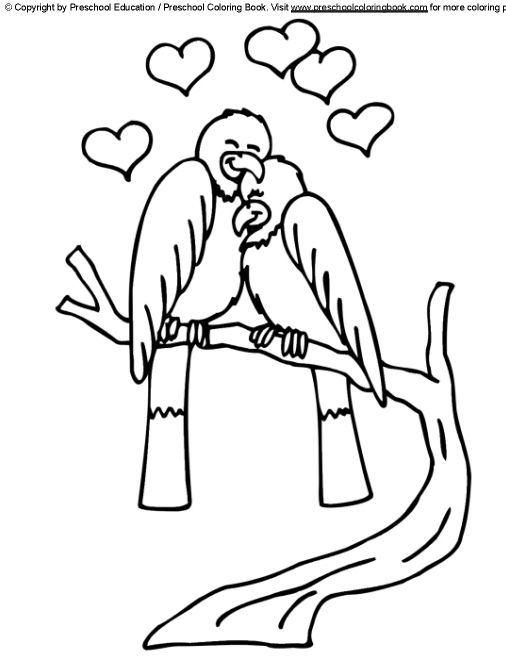 preschool coloring books free valentines day coloring pages - Valentine Day Coloring Pages