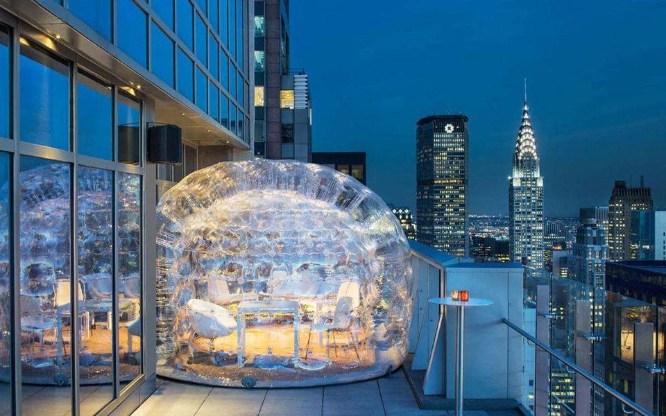 Hyatt bar in new york city