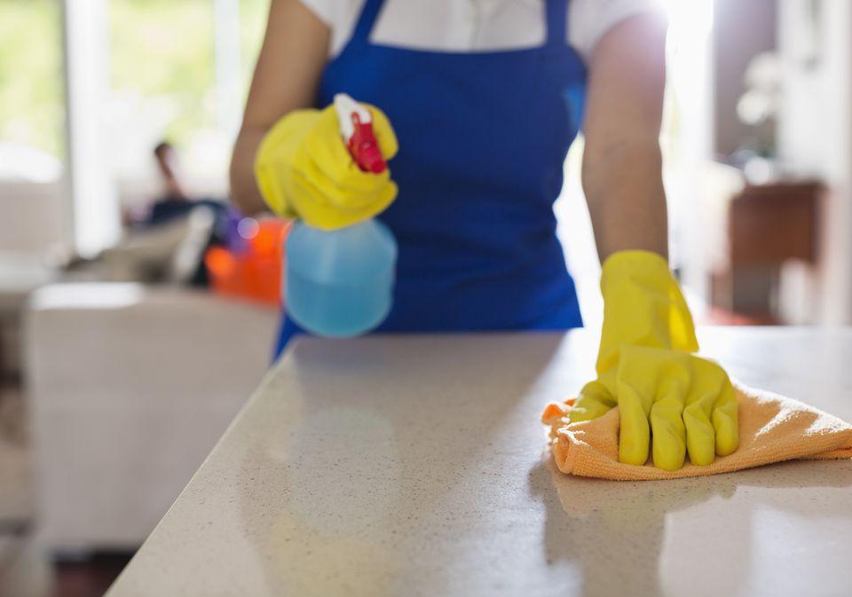 Keep Countertops Clean