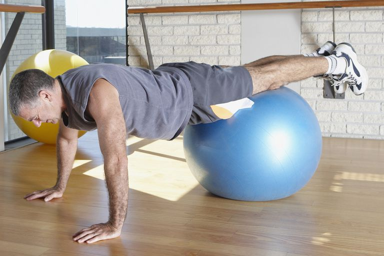 The Pilates pike starting position.