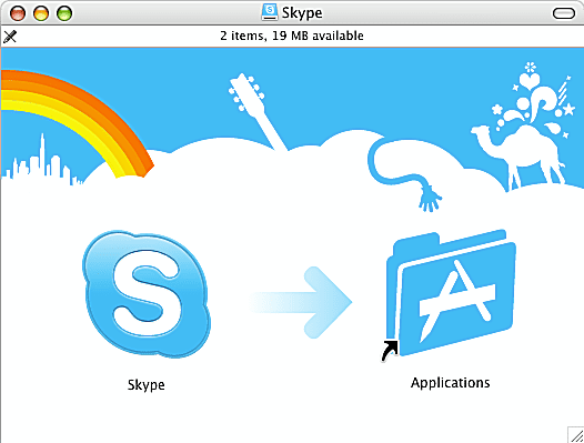 How to download and install skype for mac install skype for mac screenshot ccuart Choice Image