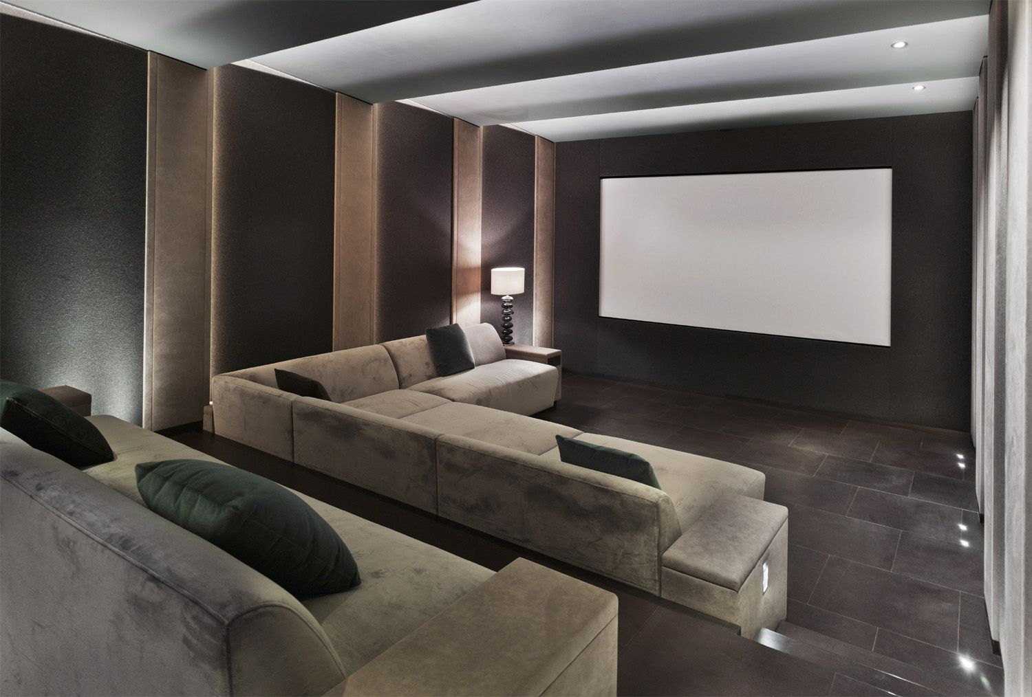 Home theater system planning what you need to know for Home cinema room