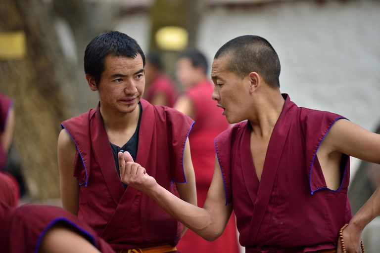 Monks Debating