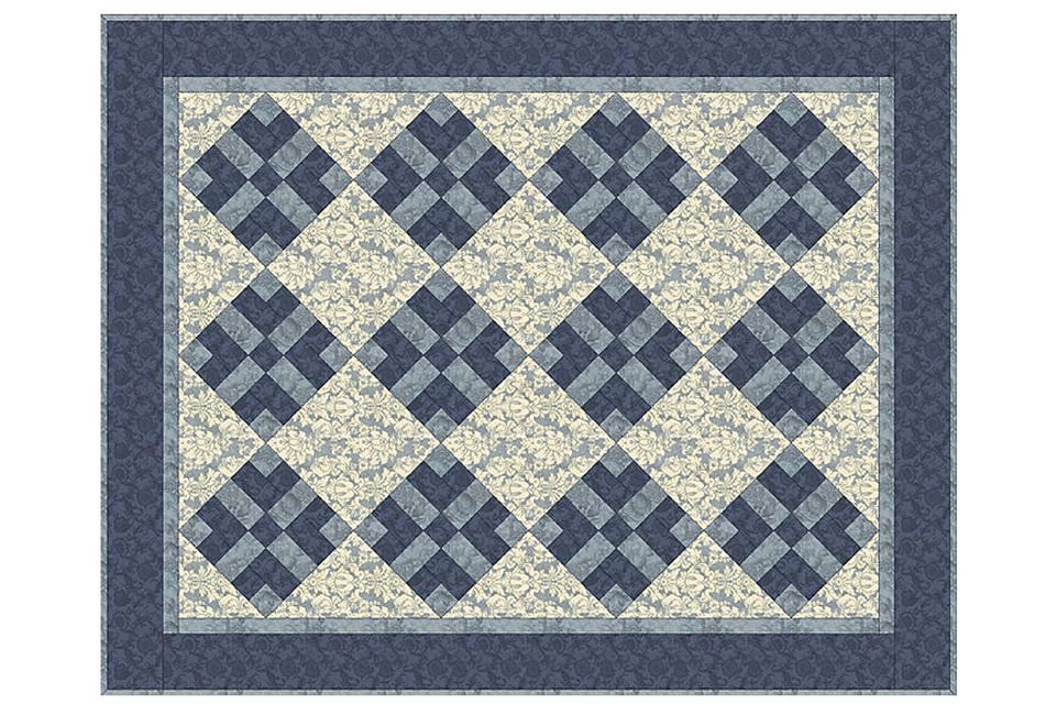 Got Blues Quilt Pattern