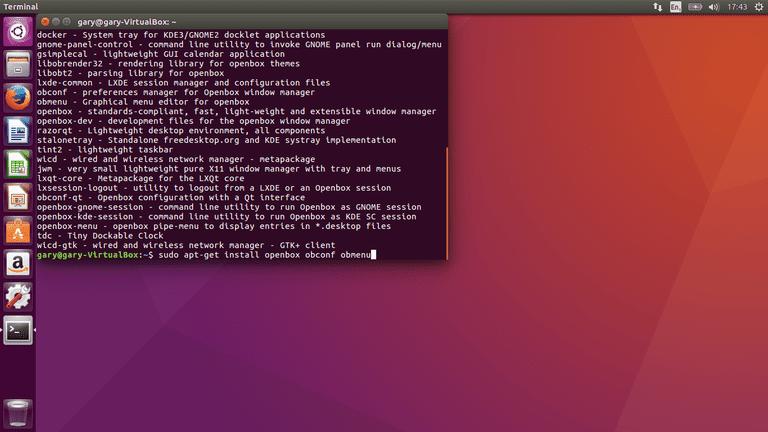 How To Install Openbox Using Ubuntu