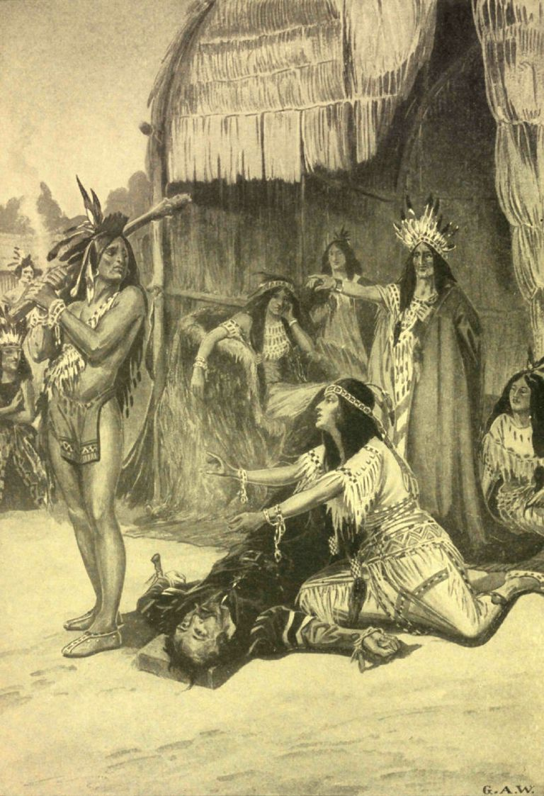 an overview of the life of pocahontas an indian princess The indian princess or, la belle sauvage, is a musical play with a libretto by james nelson barker and music by john bray, based on the pocahontas story as originally recorded in john smith's the generall historie of virginia (1624.