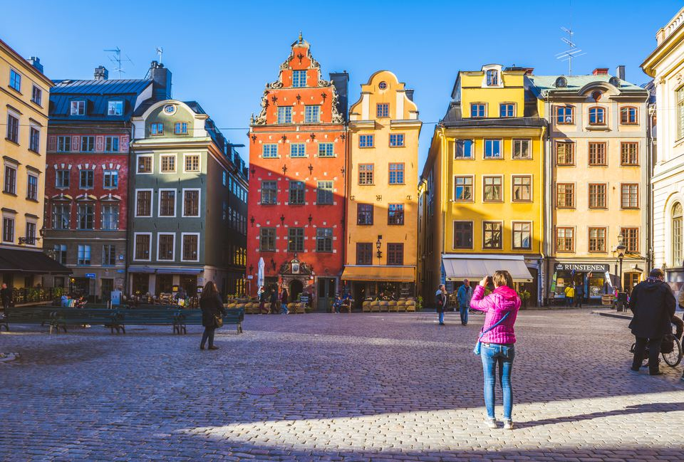 Stortorget, Gamla stan, Stockholm, Sweden, Northern Europe.
