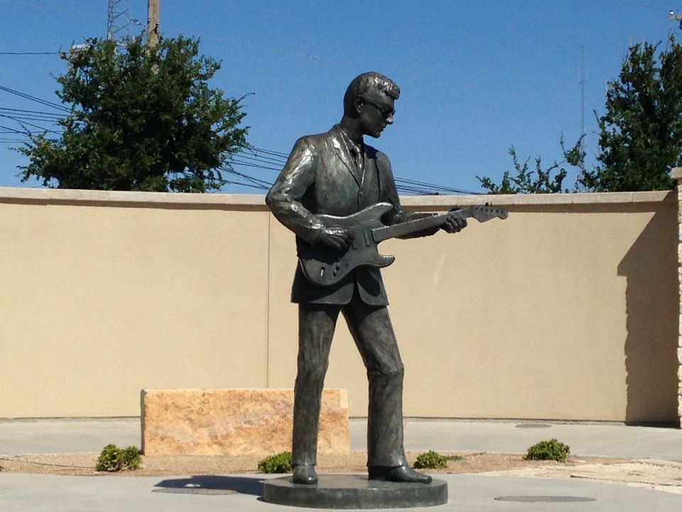Buddy Holly Statue, Lubbock, Texas