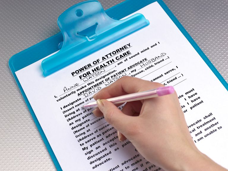 Activating a Power of Attorney