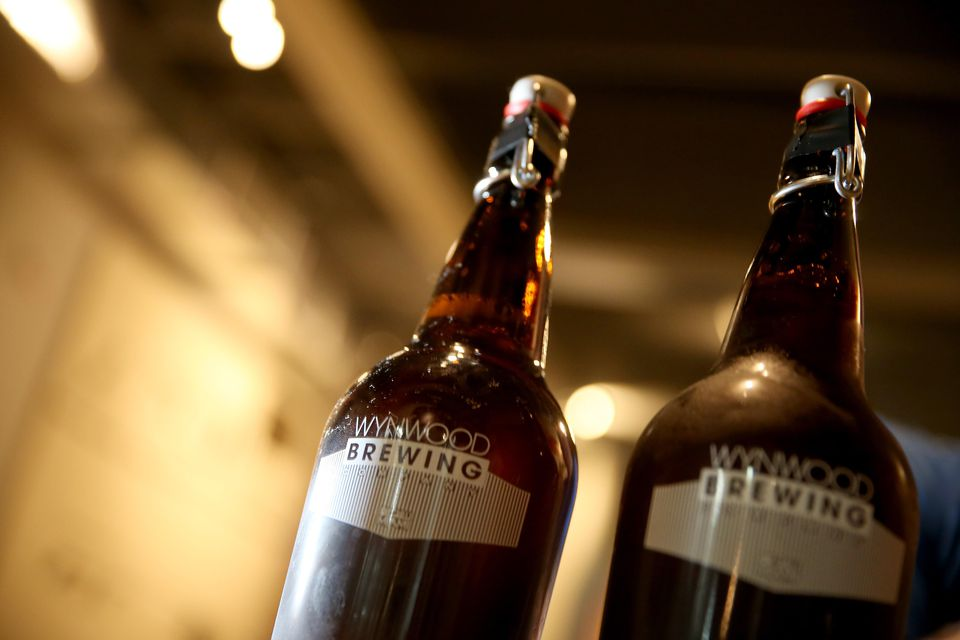 Thirty-two ounce Growlers