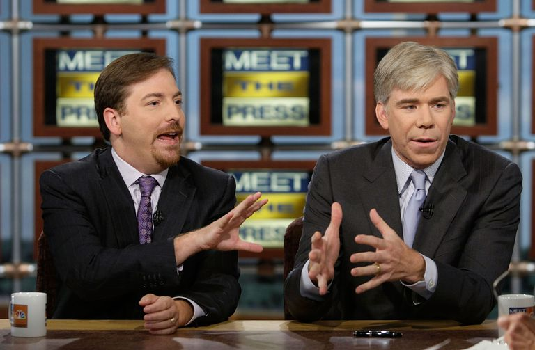 Chuck Todd and David Gregory
