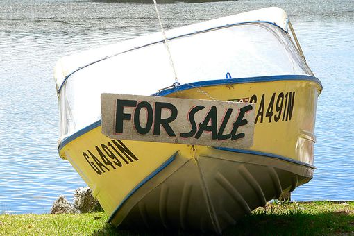 Buy a boat for cheap