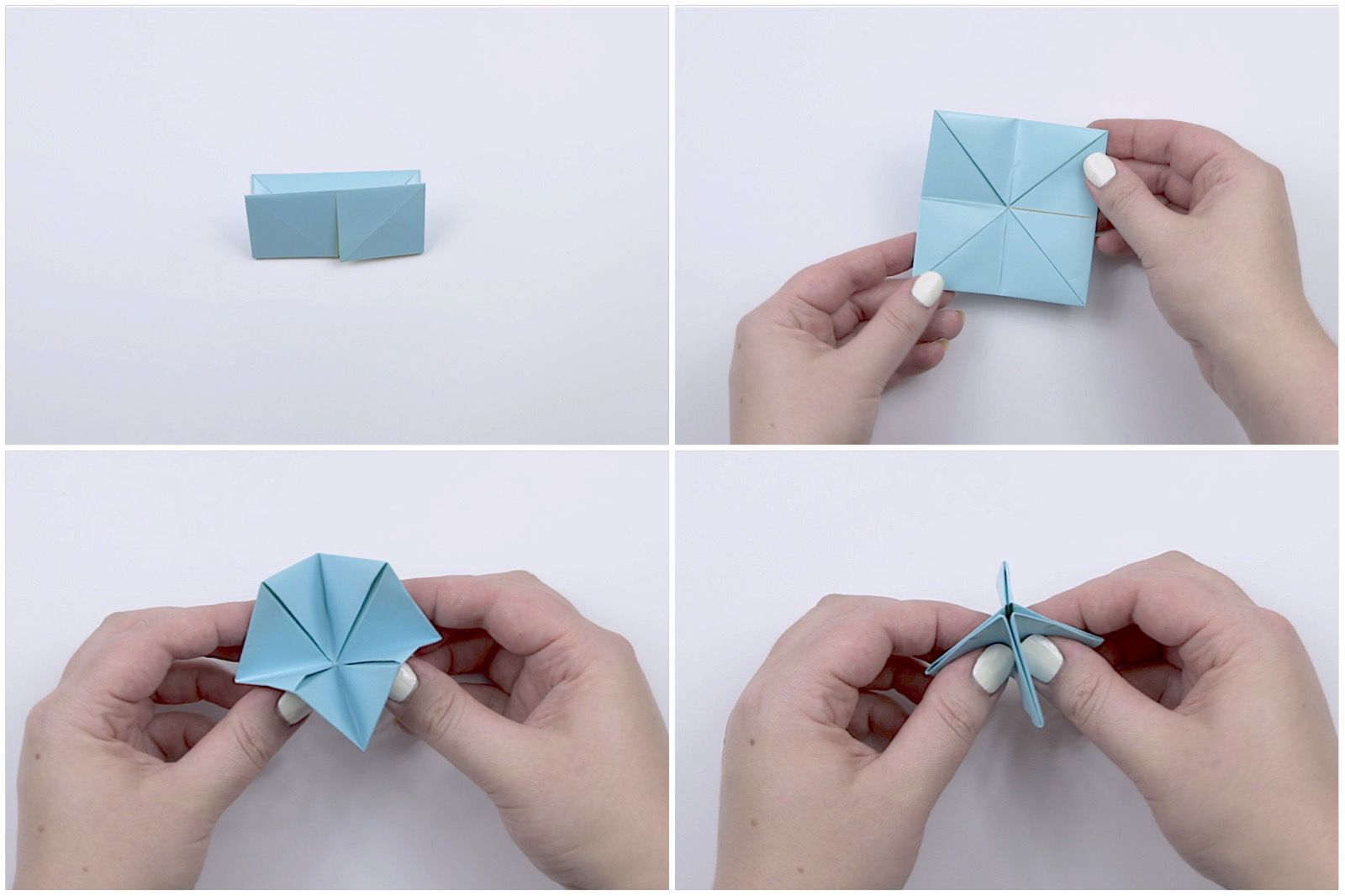 How to make an origami cootie catcher jeuxipadfo Images