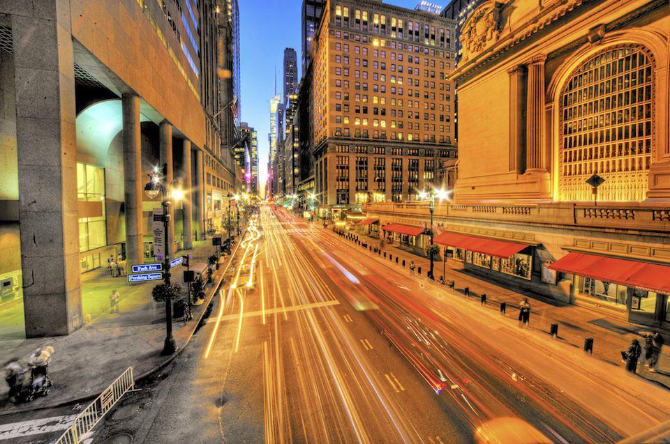 Crosstown traffic in New York City