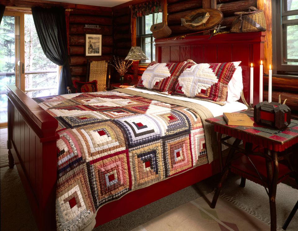 Log Cabin Quilts Photo Gallery And Layout Tips