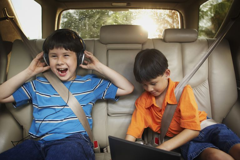 angry kids no power in car