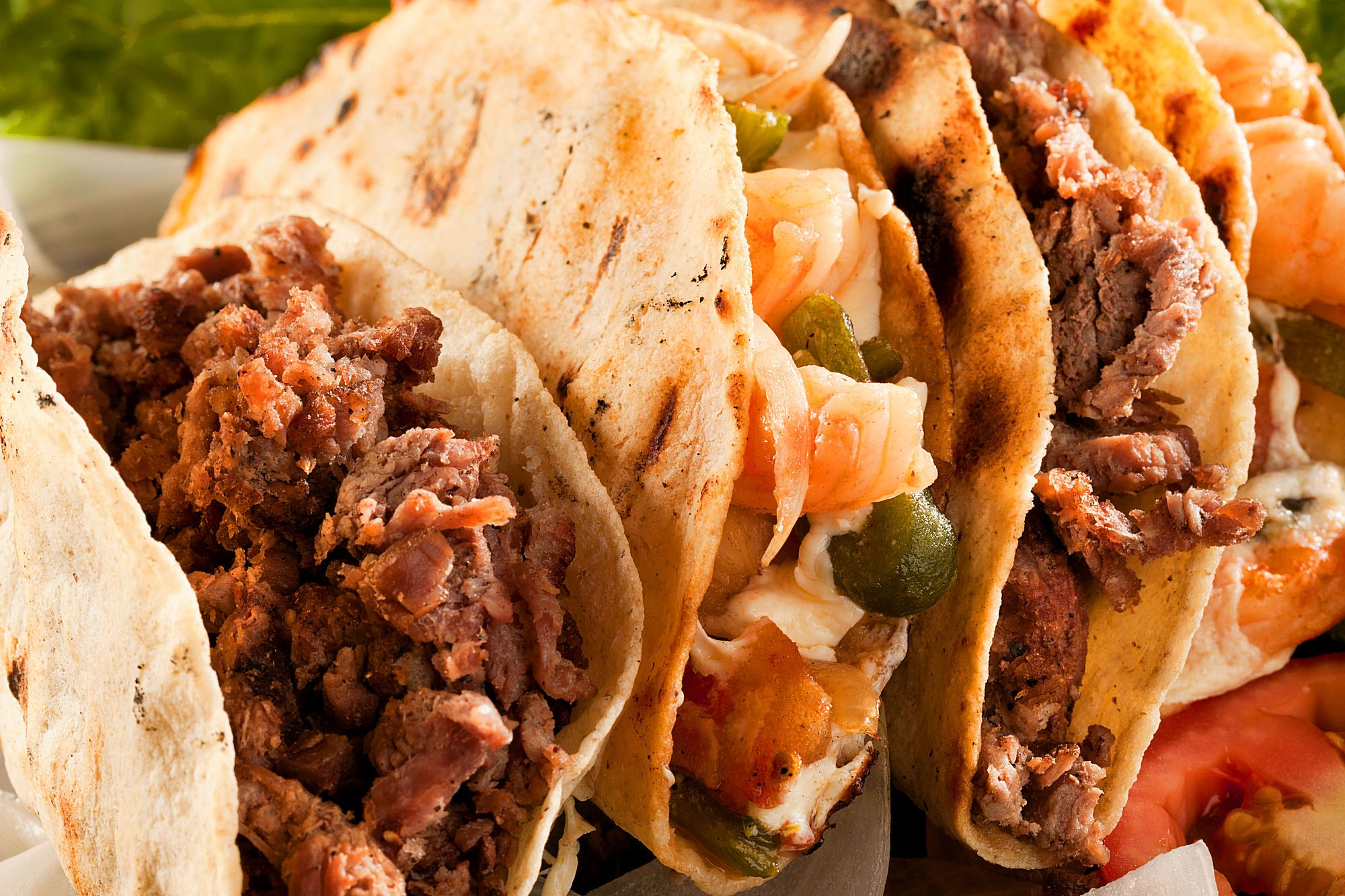Mini Ground Beef Party Tacos