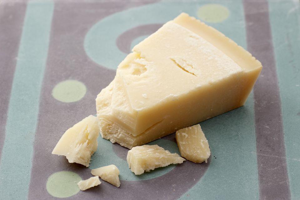 Grana Padano cheese, crumbled