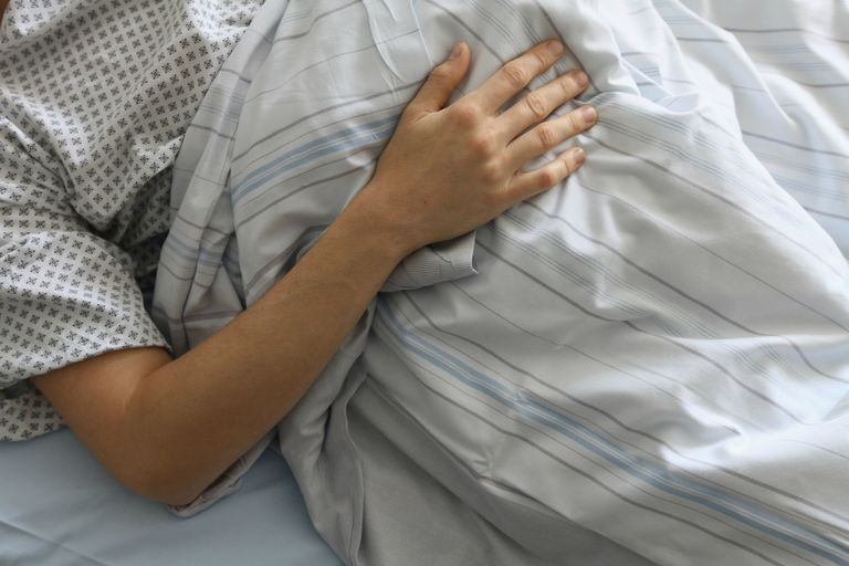 Ill hospital patient