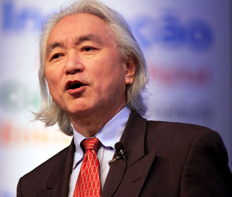 Michio Kaku giving a talk at Campus Party Brasil on February 11th 2012,