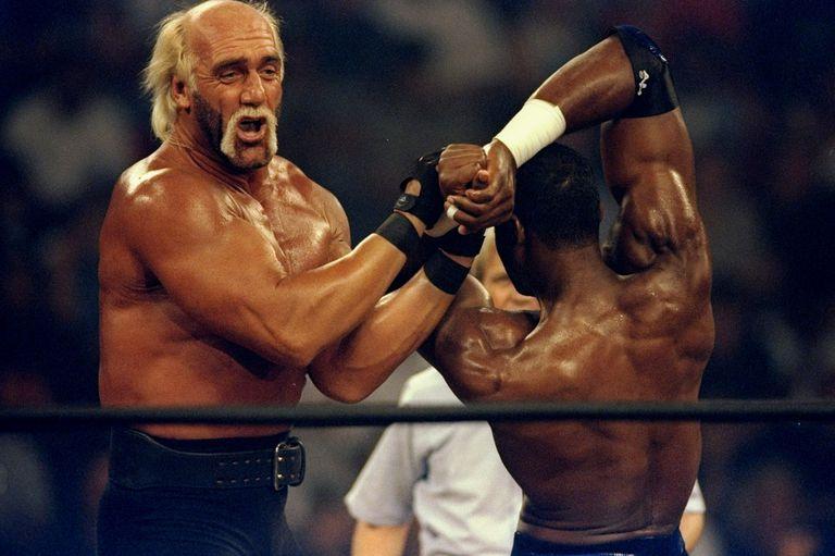 Hulk Hogan vs. Karl Malone