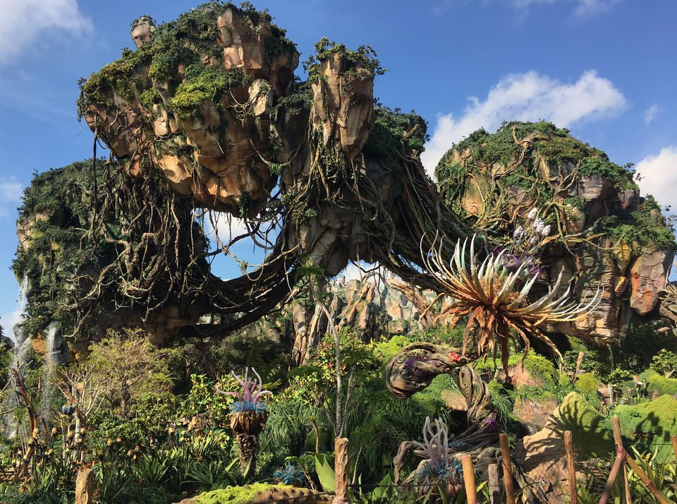 Pandora Floating Mountains