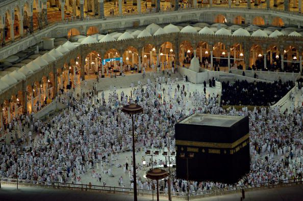 the black stone of Mecca