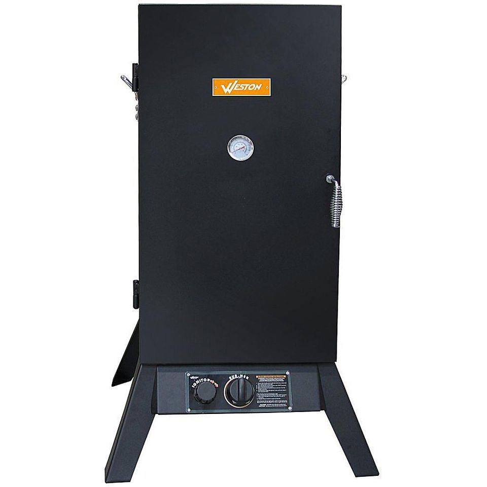 Weston Prago Outdoor Propane Vertical 30-Inch Smoker