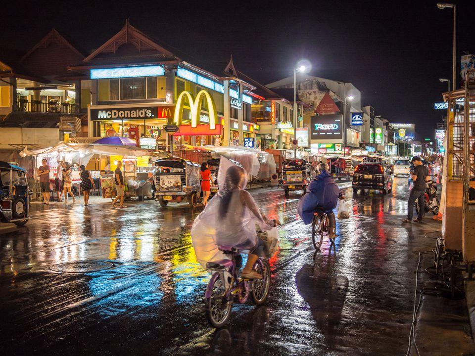 Rainy Night in Chiang Mai